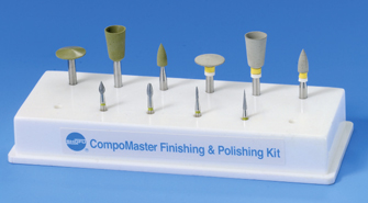 CompoMaster Finishing & Polishing Set CA/FG